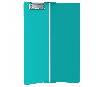 Teal Vertical ISO Clipboard