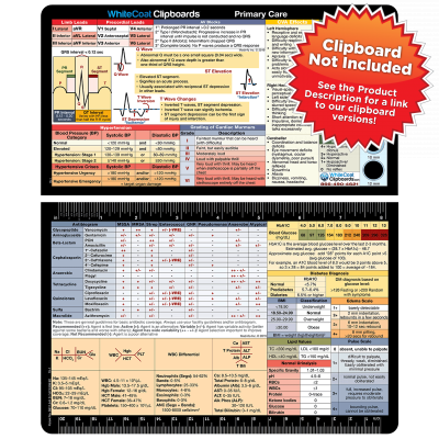 Primary Care Adhesive Reference Label