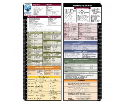 VERTICAL WhiteCoat Clipboard pharmacy Label