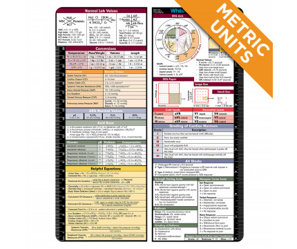 VERTICAL - WhiteCoat Clipboard Metric Medical Label
