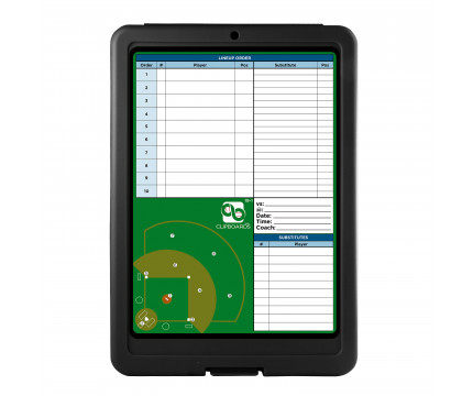 Flat Storage Baseball Clipboard