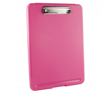 Pink Storage Clipboard