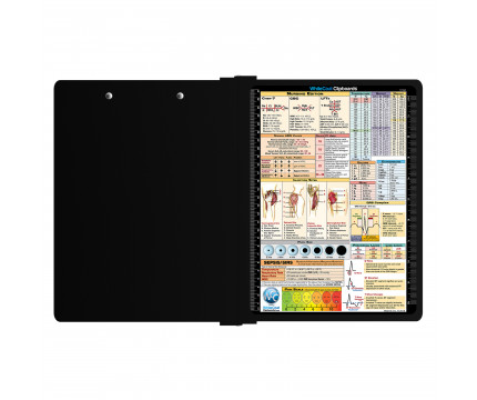 WhiteCoat Clipboard® - Right Folding Ledger - Nursing Edition