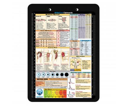 Flat Plastic Nursing Clipboard