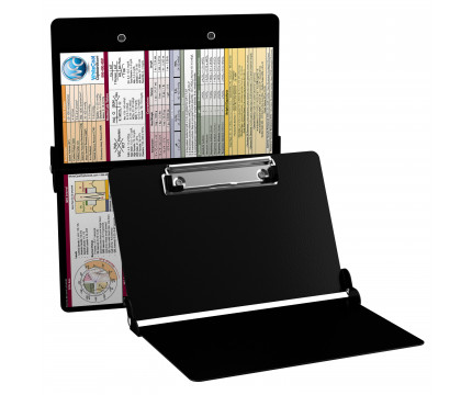 WhiteCoat Clipboard - BLACK - Medical Edition