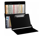 WhiteCoat Clipboard - BLACK - Pediatric Infant Edition