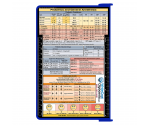 WhiteCoat Clipboard - BLUE - Anesthesia Edition