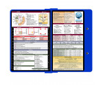 WhiteCoat Clipboard - BLUE - Metric Medical Edition