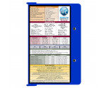 WhiteCoat Clipboard - BLUE - Medical Edition