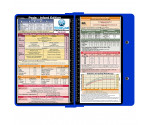 WhiteCoat Clipboard - BLUE - Pediatric Infant Edition