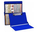 WhiteCoat Clipboard - BLUE - Respiratory Edition