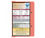 WhiteCoat Clipboard - Coral - Medical Edition