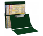WhiteCoat Clipboard - GREEN - Anesthesia Edition