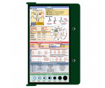 WhiteCoat Clipboard - GREEN - EMT Edition