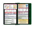 WhiteCoat Clipboard - GREEN - Metric Medical Edition