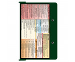 WhiteCoat Clipboard - GREEN - Occupational Therapy Edition