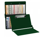 WhiteCoat Clipboard - GREEN - Pediatric Infant Edition