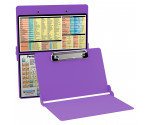 WhiteCoat Clipboard - LILAC - Chemistry Edition