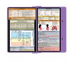 WhiteCoat Clipboard - LILAC - Respiratory Edition