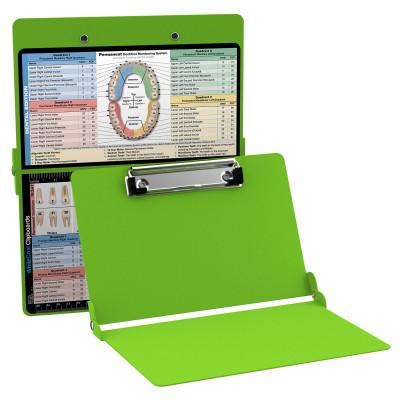 WhiteCoat Clipboard - Lime Green - Dental Edition