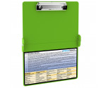 WhiteCoat Clipboard - LIME GREEN - Occupational Therapy Edition