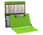 WhiteCoat Clipboard - LIME GREEN - Pediatric Infant Edition