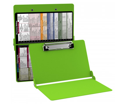 WhiteCoat Clipboard - LIME GREEN - Pharmacy Edition