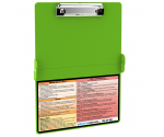 WhiteCoat Clipboard - LIME GREEN - Physical Therapy Edition