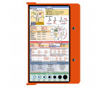 WhiteCoat Clipboard - ORANGE - EMT Edition