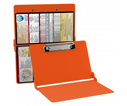 WhiteCoat Clipboard - ORANGE - Medical Edition