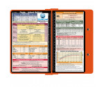 WhiteCoat Clipboard - ORANGE - Pediatric Infant Edition