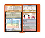 WhiteCoat Clipboard - ORANGE - Respiratory Edition