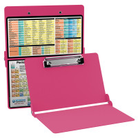 WhiteCoat Clipboard - PINK - Chemistry Edition