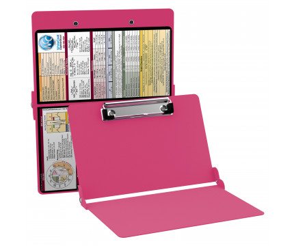 WhiteCoat Clipboard - PINK - Medical Edition