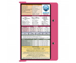 WhiteCoat Clipboard - PINK - Metric Medical Edition