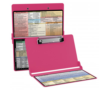 WhiteCoat Clipboard - PINK - Occupational Therapy Edition