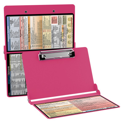 WhiteCoat Clipboard - PINK - Physical Therapy Edition