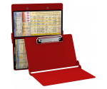 WhiteCoat Clipboard - RED - Anesthesia Edition