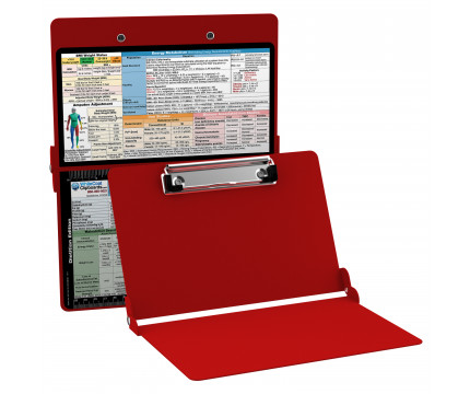 WhiteCoat Clipboard - RED - Dietitian Edition