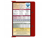 WhiteCoat Clipboard - RED - Medical Edition