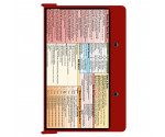 WhiteCoat Clipboard - RED - Occupational Therapy Edition