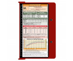 WhiteCoat Clipboard - RED - Pediatric Infant Edition