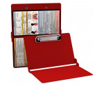 WhiteCoat Clipboard - RED - Respiratory Edition