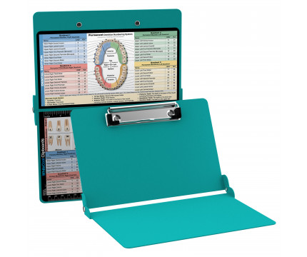 WhiteCoat Clipboard - TEAL - Dental Edition