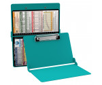 WhiteCoat Clipboard - TEAL - Pediatric Infant Edition
