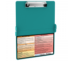 WhiteCoat Clipboard - TEAL - Physical Therapy Edition