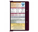 WhiteCoat Clipboard - WINE - Metric Medical Edition