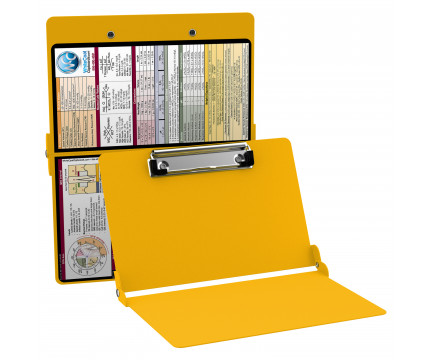 WhiteCoat Clipboard - YELLOW - Medical Edition