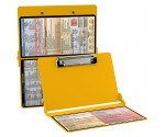 WhiteCoat Clipboard - YELLOW - Physical Therapy Edition