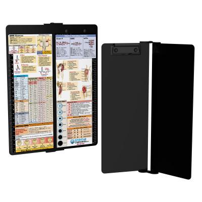 WhiteCoat Clipboard - Vertical - BLACKOUT - Metric Nursing Edition